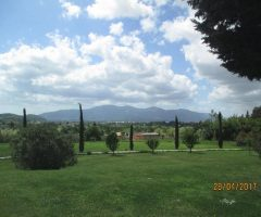 The Hotel Relais del lago and Grounds